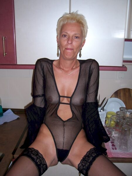 Adopte une femme cougar sexy sexy